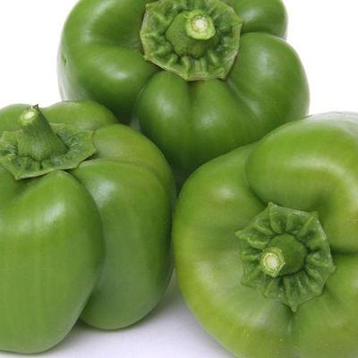 Capsicum - Green/Bengalur Mirapakayi/ Shimla Mirchi, 500 g